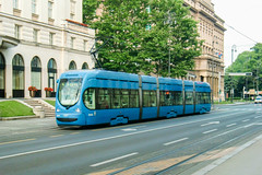 ZAG_2235_2015 (Tram Photos) Tags: tram strasenbahn tramvaj zagreb croatia tramway crotram tmk 2200 niederflur
