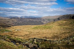 'Over the hill' (Taken By Me Photography) Tags: nikon takenbyme takenbymephotography wwwtakenbymephotographycouk adventure blue clouds view hill hills sky mountains scene outdoors country cumbria lakes north