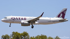 Malta International Airport (Redeemer_Saliba) Tags: qatar airways airbus a320232 a7ahp landing lmml luqa airport rwy 31