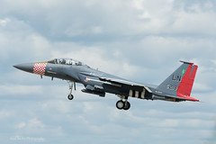 USAF, McDonnell Douglas F-15E Strike Eagle (97-0219/LN), 492nd FS/48th FW (mattmckie98) Tags: aircraft aviation airforce usaf us military mildenhall lakenheath nikon jet fighter f15
