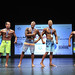 Mens Physique Masters 50+ 4th Iafrate 2nd Cornell 1st Janzen 3rd Norris