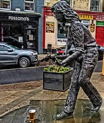 Pint (Tobymeg) Tags: rory gallagher international festival 2019 statue pint dragan effect ireland street microsoft lumia 640 lte ballyshannon tribute