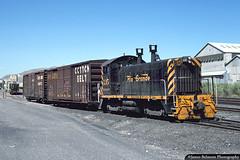 Switching at Savage (jamesbelmont) Tags: riogrande emd sw1200 230drag saltlakecity utah roperyard train railroad railway locomotive