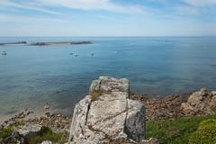 Seen from above (~ Jessy S ~) Tags: beach plage sea mer ocean nikon d750 nikkor sky ciel blue bleu water scape paysage rochers rocks
