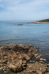 Ocean (~ Jessy S ~) Tags: beach plage sea mer ocean nikon d750 nikkor sky ciel blue bleu water scape paysage rochers rocks