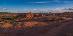 Glow of Sunset - Arches National Park (McKendrickPhotography.com) Tags: archesnationalpark moab utah sunset clouds desert