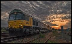 IMG_3184 (saltley1212) Tags: 0z74 gbrf class66 667 class73 739 66789 73967 washwood heath birmingham