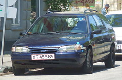 rat 1995 Ford Mondeo 2.5 v6 stationwagon XT45585 still on the roads of Denmark (sms88aec) Tags: rat 1995 ford mondeo 25 v6 stationwagon xt45585 still roads denmark