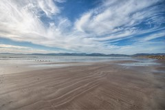 The Beach at Rossbeigh (Evoljo) Tags: ireland countykerry nikon d500 rossbeigh ringofkerry sand sea sky couds beach coast