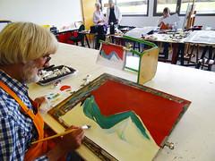 #GrandPublic/Peinture couleur/ E. Mies Wallet (esamCaenCherbourg) Tags: esamcaencherbourg grandpubliccaen 201819 atelieradultes elisabethmieswallet peinture