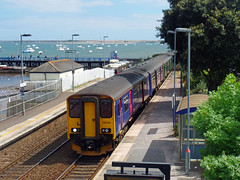 150238 & 150263 Starcross (Marky7890) Tags: gwr 150238 150263 class150 sprinter 2f37 starcross railway devon rivieraline train