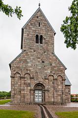 Kirche in Hee DK (ulrichcziollek) Tags: dänemark jütland hee kirche kirke romanik romanisch kirchturm