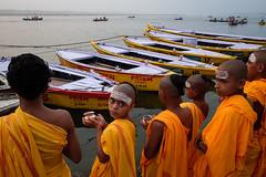 Morning (SaumalyaGhosh.com) Tags: morning people boys india street streetphotography color river water boats benaras varanasi fuji xt2 fujifilm