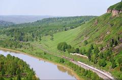Little train (igo-shev) Tags: железнаядорога природа горы кузбасс электричка поезда россия ржд russia rzd railroad trains kuzbass inleuex siberia nature