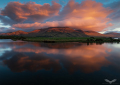Beinn Ghraig (Andy Davis Photography) Tags: beinnghraig mull hebrides sunset reflections mountains clouds loch river stream field canon