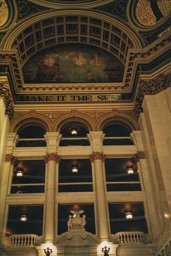 Harrisburg  Pennsylvania  - Pennsylvania's State Capitol - Interior Dome Mural