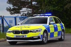 BX19 FZN (S11 AUN) Tags: thames valley police tvp bmw 530d xdrive estate touring anpr traffic car roads policing unit rpu 999 emergency vehicle bx19fzn