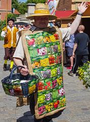 Sachsen-Anhalt-Tag in Quedlinburg (Helmut44) Tags: deutschland germany sachsenanhalt quedlinburg harzvorland sachsenanhalttag festumzug evening event kostüme samenzuchtbetrieb