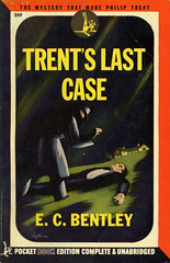 Pocket Books 269 - E.C. Bentley - Trent's Last Case (swallace99) Tags: pocketbooks vintage 40s murder mystery hlawrencehoffman paperback