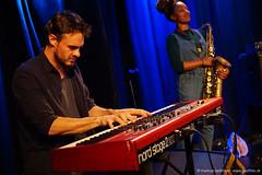 Al MacSween: keys / Nubya Garcia: sax (jazzfoto.at) Tags: sonyalpha sonyalpha77ii alpha77ii sonya77m2