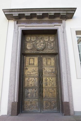 Library Doors - Vilnius University