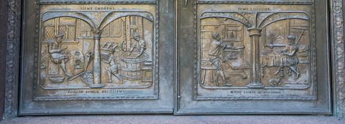 Library Doors - Bottom
