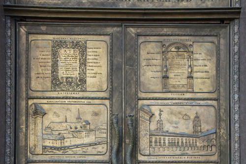 The Library Doors - Top