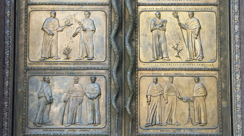 Library Doors - Middle