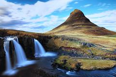 Kirkjufell (erichudson78) Tags: island islande iceland kirkjufell longexposure poselongue paysage landscape water waterfall chutedeau eau canoneos6d filtrend montagne mountain river ndfilter