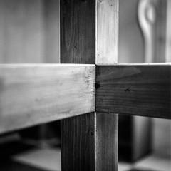 Sign of the cross (chipsmitmayo) Tags: mamiya c330 kodak tx 400 sekor 80mm f28 film analog mittelformat medium format square quadrat 120 rollfilm 6x6 sauerland schmallenberg hsk kirche stalexander kreuz turm church