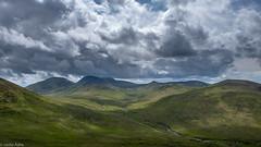 Mourne cloudscape (Donard850) Tags: northernireland mournemountains mountains sky clouds landscape fuji xt20