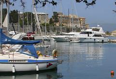 Corfu marina (dramadiva1) Tags: