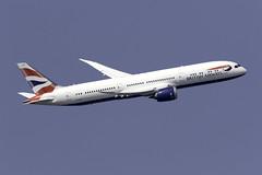 British Airways 787-9 G-ZBKC at London Heathrow LHR/EGLL (dan89876) Tags: british airways boeing 787 dreamliner b789 7879 gzbkc london heathrow international airport takeoff 09r lhr egll