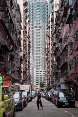 To Kwa Wan, HK (mikemikecat) Tags: old buildings town minimal people grunge to kwa wan tokwawan 土瓜灣 hong kong architecture one person mikemikecat city car motor vehicle building exterior mode transportation built structure street land life real men road walking residential district incidental skyscraper cityscape office apartment happyplanet asiafavorites