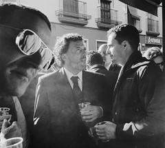 Sevilla Bar (feleco (analog ph.)) Tags: leicam2 agfaapx analogue film