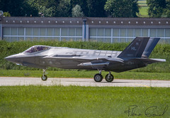 Lockheed Martin F-35A Lightning II  AF13-5077 (Florian GIORNAL) Tags: lockheed martin f35a lightning ii 135077 lsmp avgeek aviation aviationphotography air aircraft airport aeroport airbase rwy roulage taxiing us united usaf payerne piste military militaire jet force fighters flight décollage departure spotting spotter swiss switzerland suisse show sky squadron warbird vol air2030 essai en avion de chasse state america cn af 83 388th fighter wings 34th ruderams