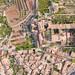 Top-Down aerial of Valldemossa, Mallorca, Spanien