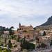 Chirch in the Charterhouse of Valldemossa (Iglesia de la Cartuja) in Mallorca, Spain