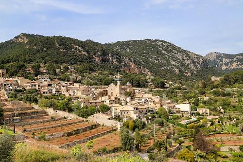 Terrassen in der Kartause von Valldemossa (la Cartuja) auf Mallorca