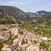 The valley of Valldemossa on the island of Mallorca, Spain