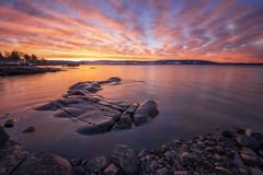 Fanning Out (Ole Henrik Skjelstad) Tags: norway norge water lake reef spring sunrise