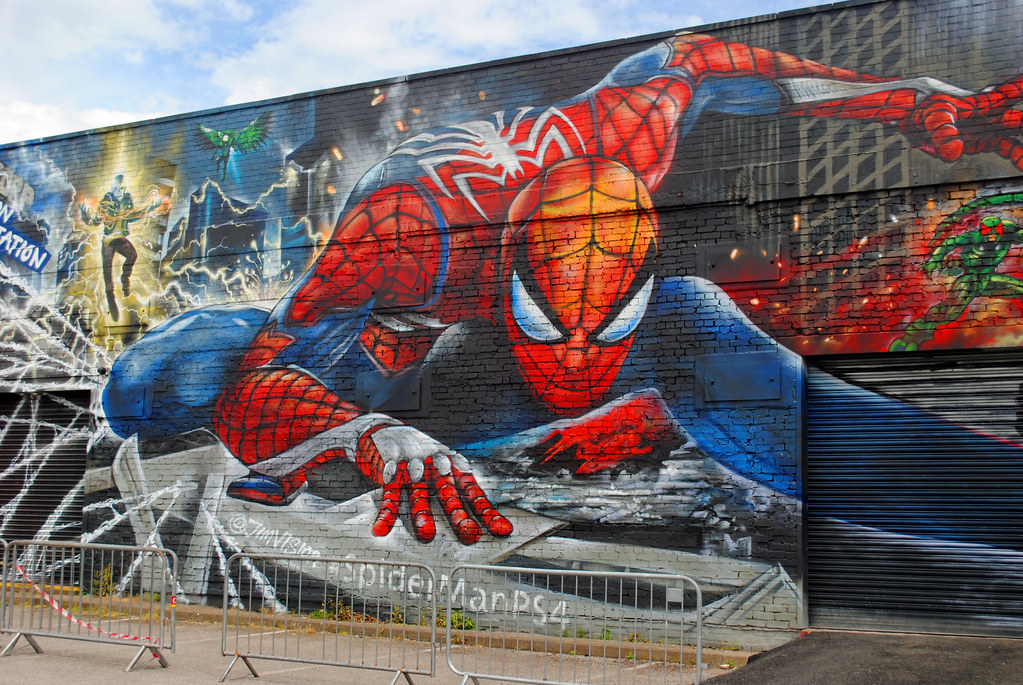 The World's Best Photos of birmingham and spiderman - Flickr