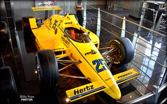 Al Unser Sr 1987 Indy 500 Winner March 86C (billypoonphotos) Tags: penske racing pennzoil march cosworth indy 500 winner indianapolis goodyear tires miller car billypoon billypoonphotos nikon phoenix arizona museum roger media news photo picture photography photographer vehicle race auto al unser 86c 1987 1986 hertz yellow d5500