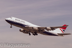 G-CIVB - Negus Livery - London Heathrow (MagyarSteve) Tags: ba britishairways boeing 747 b747 negus retro lhr londonheathrow heathrow plane aeroplane