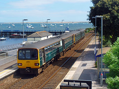 143621 & 143618 Starcross (2) (Marky7890) Tags: gwr 143621 143618 class143 pacer 2t19 starcross railway devon rivieraline train