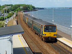 143621 & 143618 Starcross (1) (Marky7890) Tags: gwr 143621 143618 class143 pacer 2t19 starcross railway devon rivieraline train