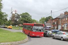 Red Rose Travel W411 UGM 0950hrs Aylesbury to Steeple Claydon 310519 (return2layerroad) Tags: redrosetravel aylesbury steepleclaydon quainton dennisdartslf plaxton w411ugm buckinghamshire