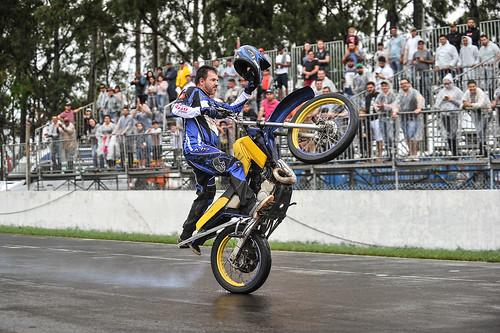 02/06/19 - Show de manobras radicais do grupo Ases do Motociclismo - Fotos: Duda Bairros