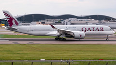 Qatar Airways Airbus A350-941 A7-AMI (StephenG88) Tags: londonheathrowairport heathrow lhr egll 27r 27l 9r 9l boeing airbus may20th2019 20519 myrtleavenue renaissanceheathrow a350 a350xwb xwb a359 a350900 a350941 qatarairways qr qtr qatar a7ami