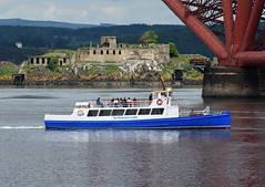 Forth Princess (Gerry Hill) Tags: forth road bridge south queensferry harbour river water firth replacement crossing scotland north princess boat tours hawes pier built 1921 britannia 1 thames plymouth